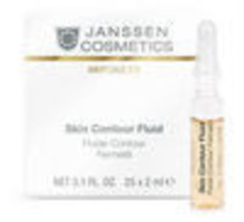 Anti-age лифтинг-сыворотка в ампулах с пептидами, Janssen Cosmetics, 3 х 2 мл.