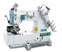 Фото: Двухигольная швейная машина Siruba HF008-02064P/FBQ/C