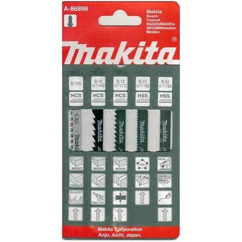 Универсальный набор пилок для лобзика Makita