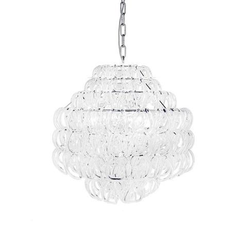 Подвесной светильник Giogali SP 3E by Vistosi (белый)