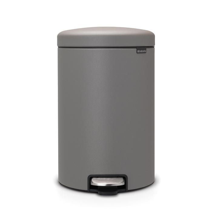 Мусорный бак newIcon (20 л), Минерально-серый, арт. 119163 - фото 1