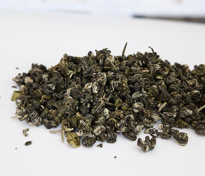 TEA-CH101 Зеленый чай «Изумрудные Спирали Весны» (Билочунь, Юньнань, 50 гр) фото 02