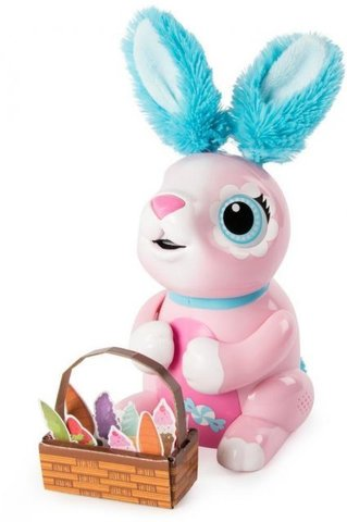 Интерактивный кролик Zoomer Hungry Bunnies , Shreddy Pink