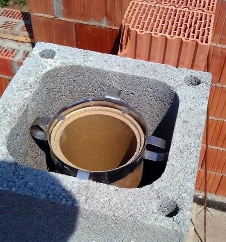 QUADRO – керамическая дымоходная система