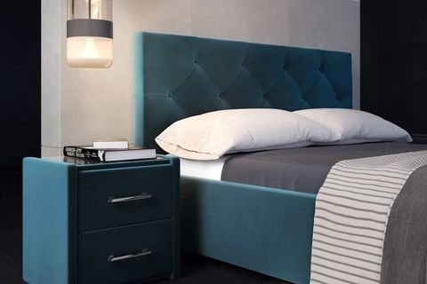 Кровать Версаль с мягким изголовьем