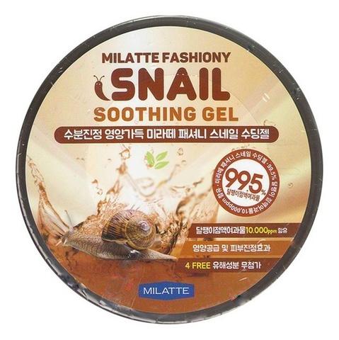 Многофункциональный гель с улиточной слизью Milatte Fashiony Snail Soothing Gel