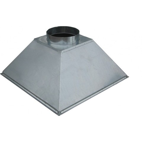 Под заказ Зонт купольный 500х500/ф160 мм