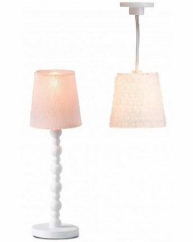 Освещение для домика Lundby Торшер и люстра с абажурами 60604000