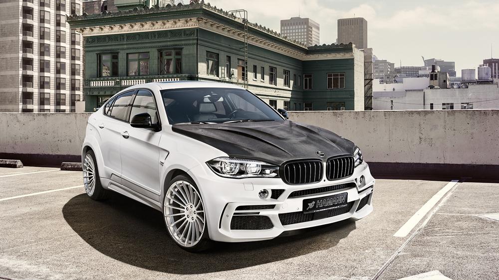 Обвес Hamann для BMW X6 F16
