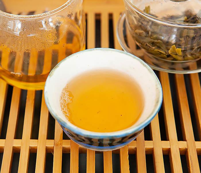 TEA-CH131 Шен Пуэр «Дикий» с горы Лао Цзюнь Шань (Юньнань, 50 гр) фото 14