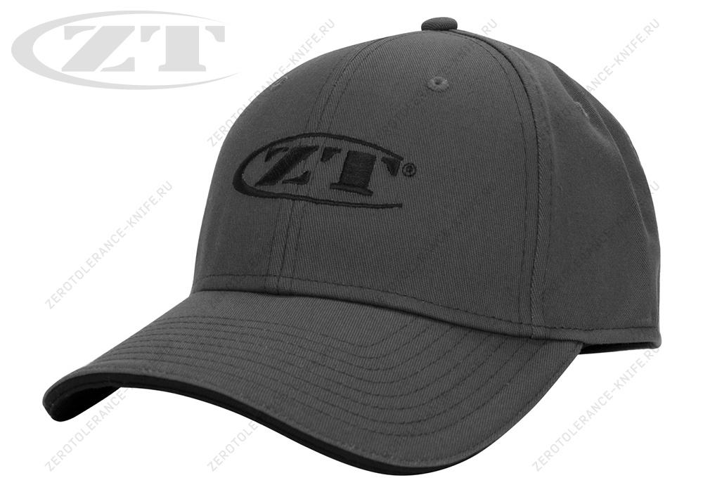Бейсболка Zero Tolerance CAPZT183ML Charcoal