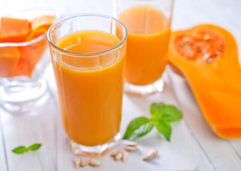 Сок натуральный морковный 1л