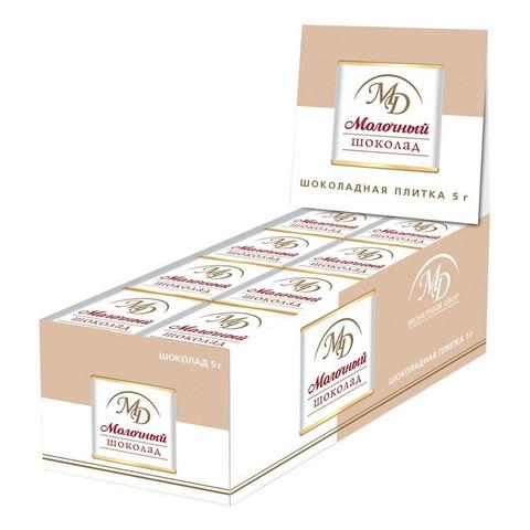 Шоколад порционный Монетный двор молочный (96 штук по 5 г)