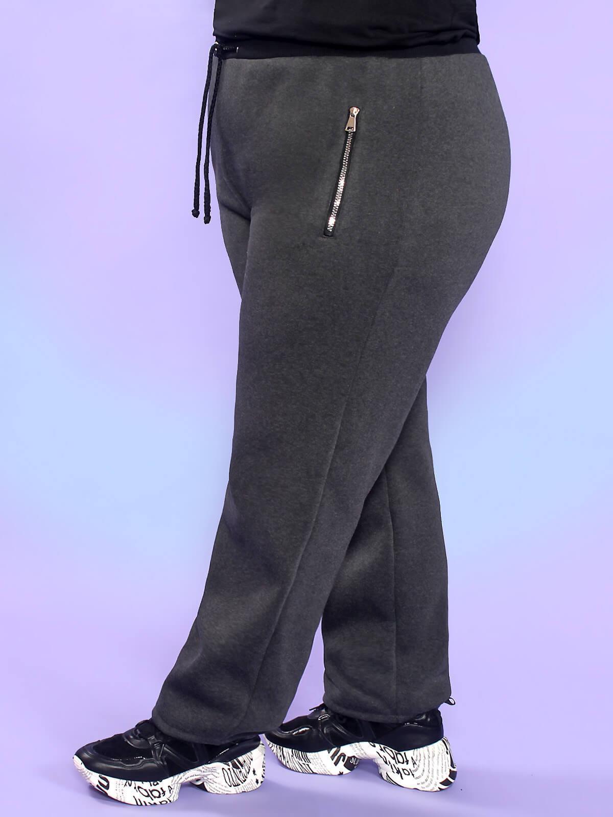 Зимние брюки с начёсом