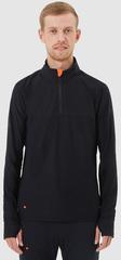 Элитная рубашка Gri Лонг мужская черная