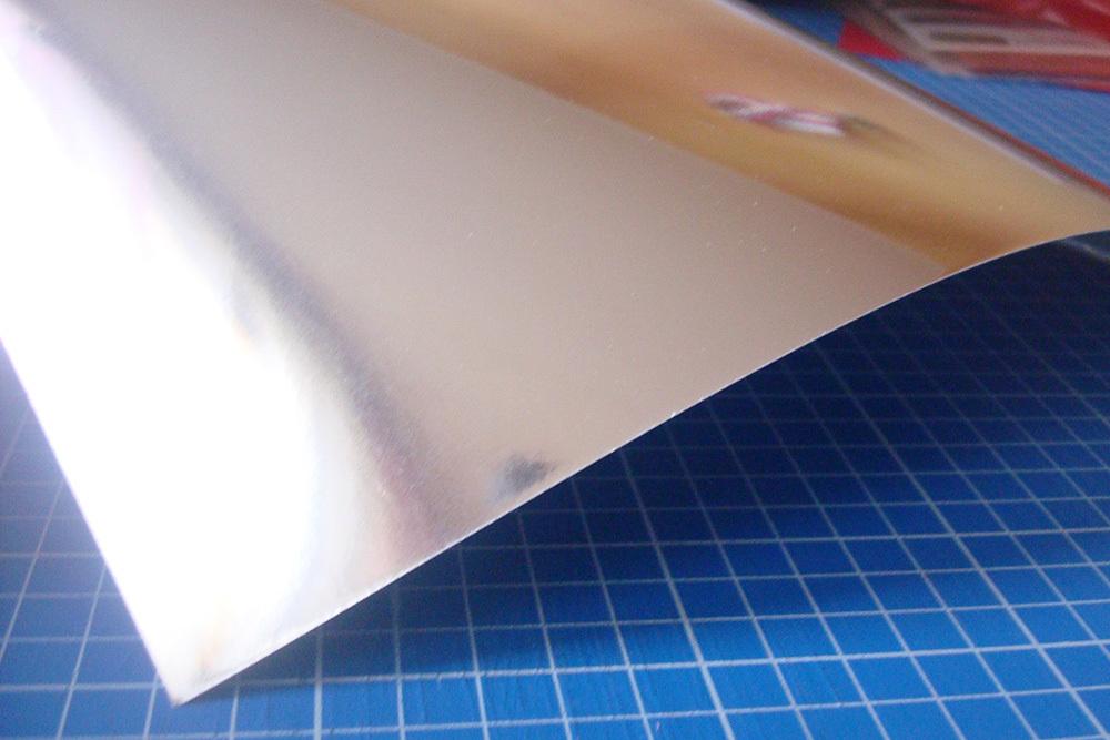 Бумага с зеркальным покрытием Chromalux Chrome