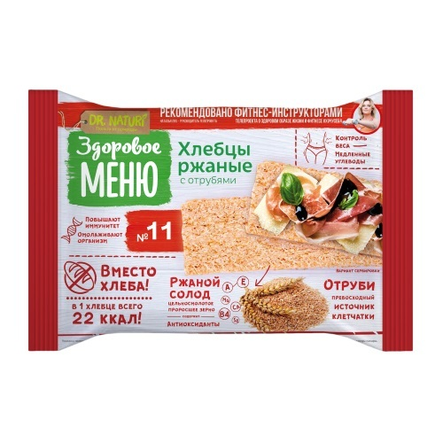 Хлебцы ржаные 90 гр