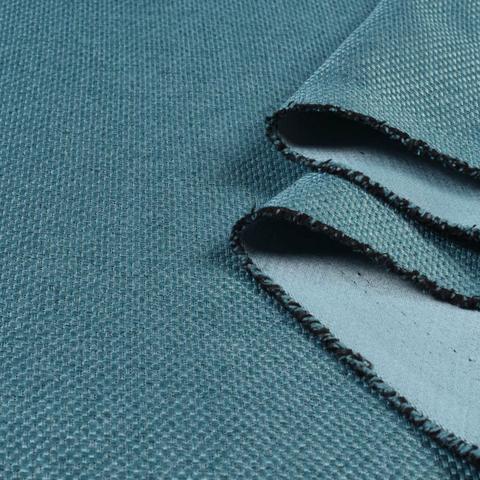 Блэкаут рогожка темно-бирюзовая оптом. BLR-2011
