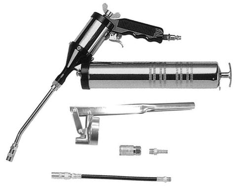JAT-360K Нагнетатель консистентных смазок пневматический, 6 предметов