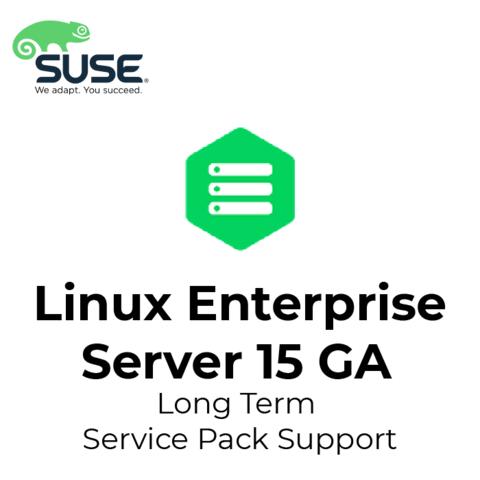 SUSE Linux Enterprise Server 15 GA Long Term Service Pack Support