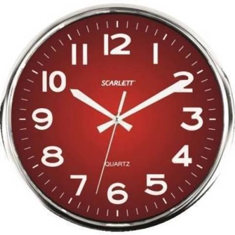 Часы настенные Scarlett SC-WC1006O
