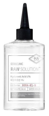 Универсальная сыворотка ГИАЛУРОН Raw Solution Hyaluronic Acid 1%, 60 мл CERACLINIC