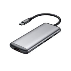 USB-хаб  Hagibis USB-C to USB 3.0/HDMI / 6 ports / PD / Card Reader