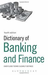 Dict of Banking and Finance  4Ed.