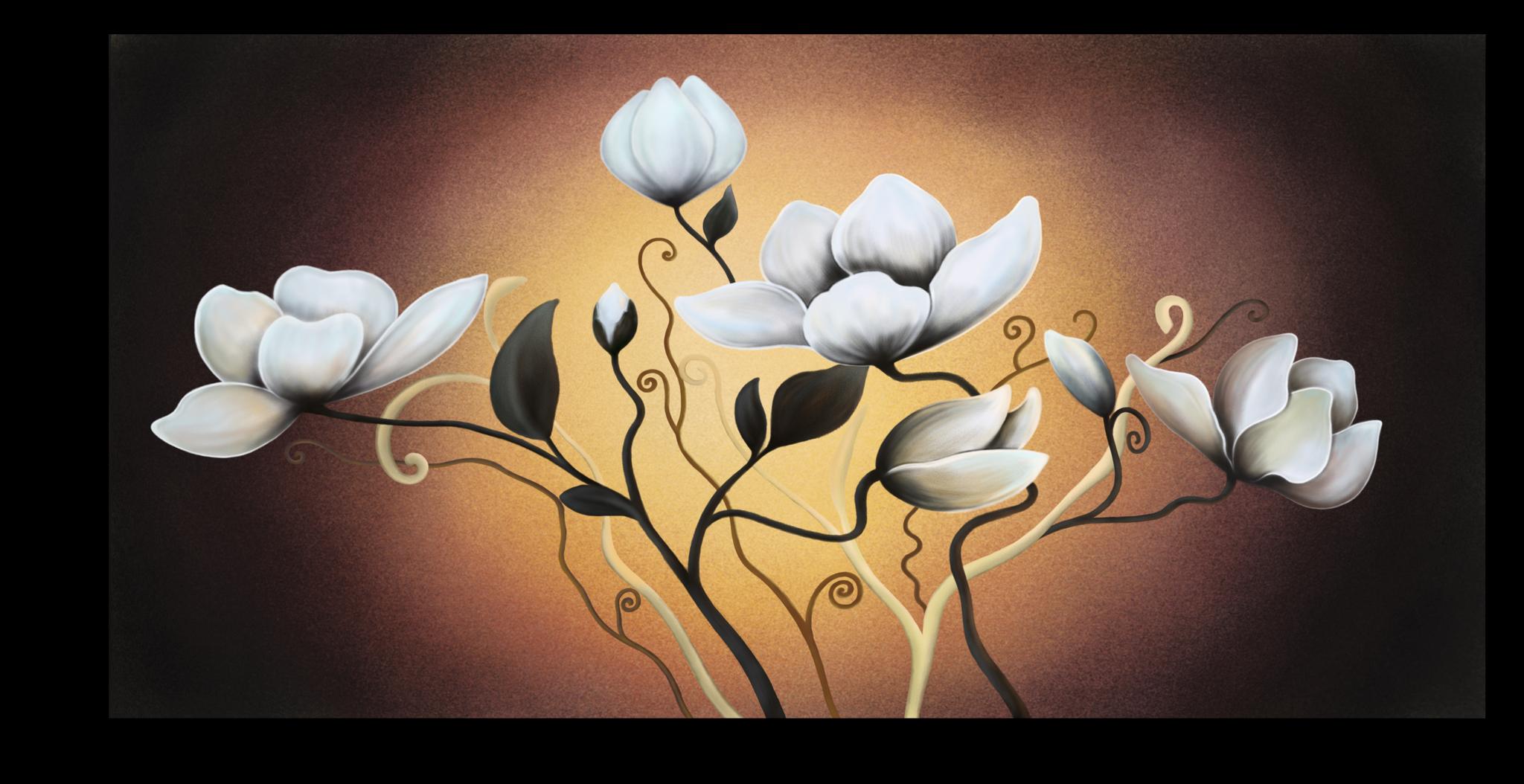 """Цветы Постер """"Изысканный цветок"""" п8.png"""
