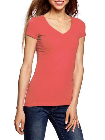 7575-11 футболка женская, розовая