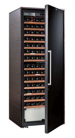 Винный шкаф EuroCave D Collection L венге, сплошная дверь, максимальная комплектация