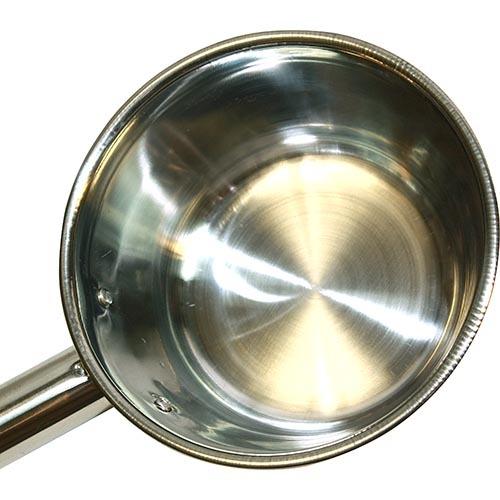 Ковш для бани из стали