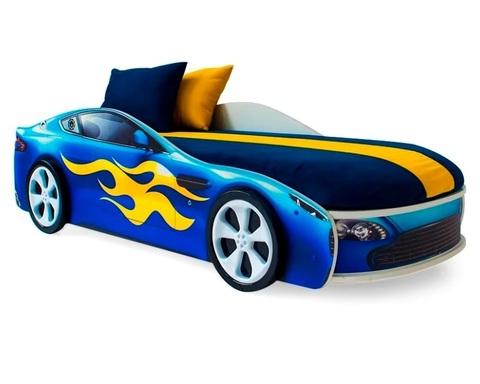Кровать-машинка БОНДМОБИЛЬ с подъемным механизмом