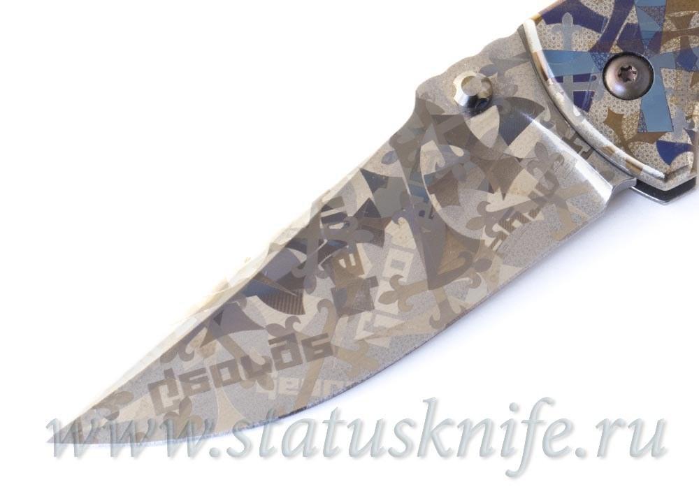 Нож Talos Custom CTS-XHP Les George - фотография