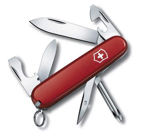 Нож Victorinox Tinker Small, 84 мм, 12 функций, красный123