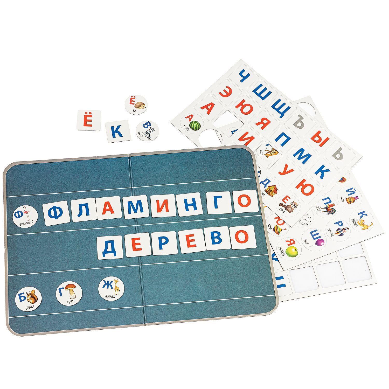 Магнитные игры BONDIBON, Изучаем буквы (72 магнита)