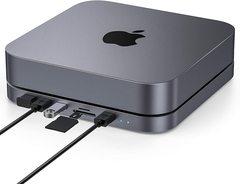 Док станция Elecife Mac Mini Stand / USB-С хаб и дополнительный диск