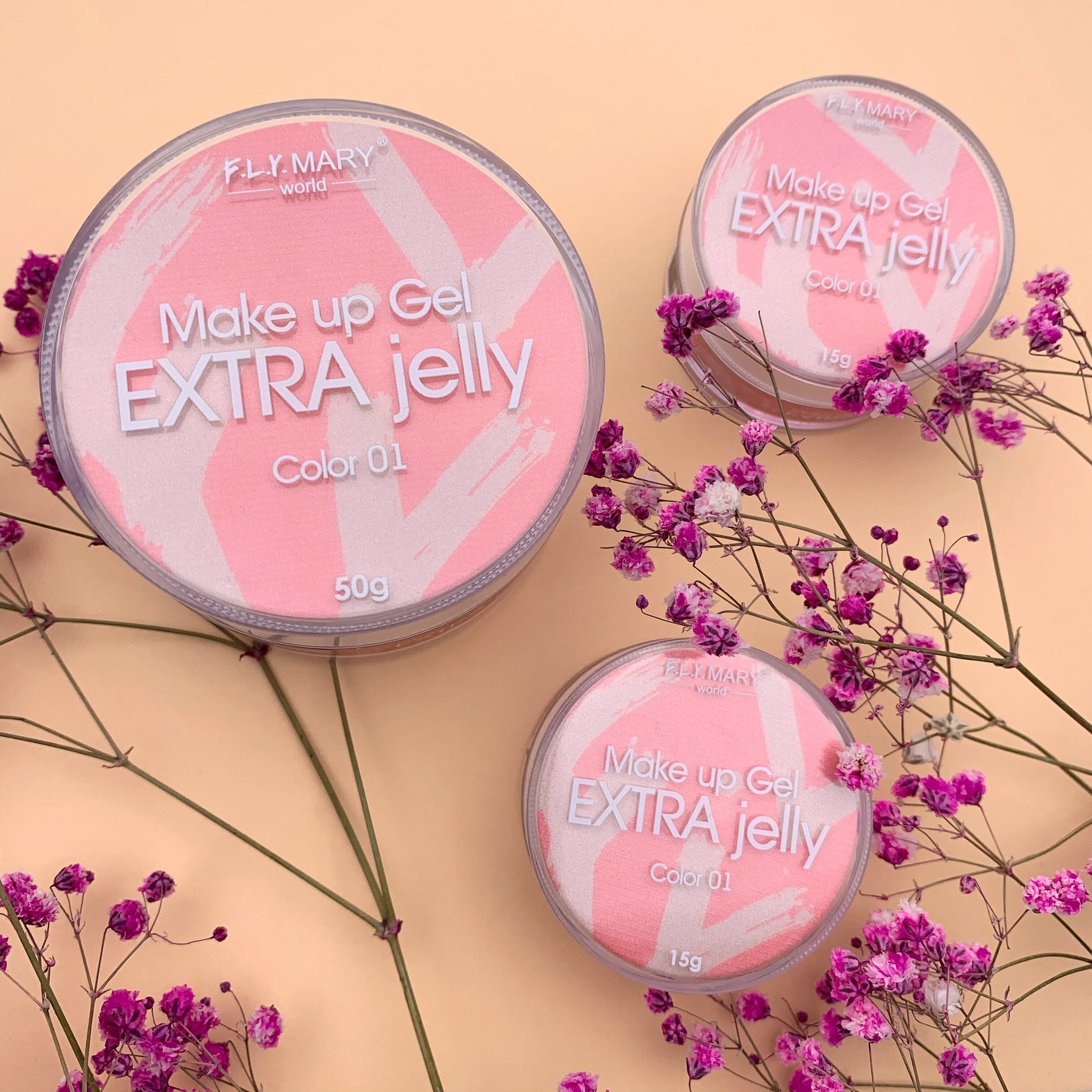 Гель-желе FLY MARY Extra Make-up 1 50гр