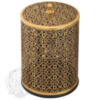 Ведро для мусора ажурное 5л. Migliore ML.COM-50.114 бронза
