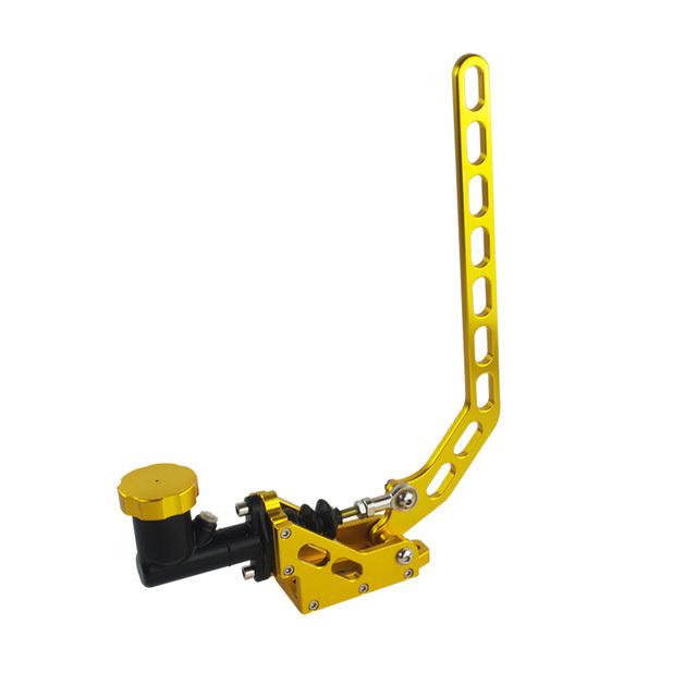 Гидравлический вертикальный ручник золотого цвета