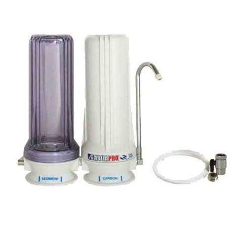 Двухступенчатый настольный фильтр AquaPro DHS-2X-1 очистки воды