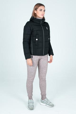 Куртка пуховик на синтепоне с капюшоном недорого