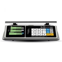 Весы торговые настольные Mertech M-ER 328AC-15.2 TOUCH-M, RS232, USB, 15кг, 2гр, 325х230, с поверкой, без стойки