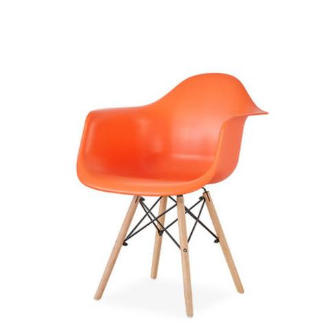 Стул-кресло DAW Eames by Vitra (оранжевый)