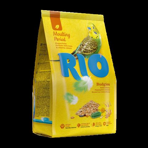 Rio Сухой корм для волнистых попугайчиков в период линьки