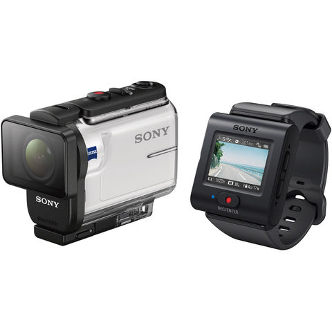 Экшн камера Sony HDR-AS300R c пультом RM-LVR3 в Sony Centre Воронеж