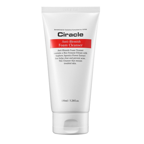 Пенка для умывания Ciracle Anti-Blemish Foam Cleanser для кожи с избыточным кожным салом 150 мл