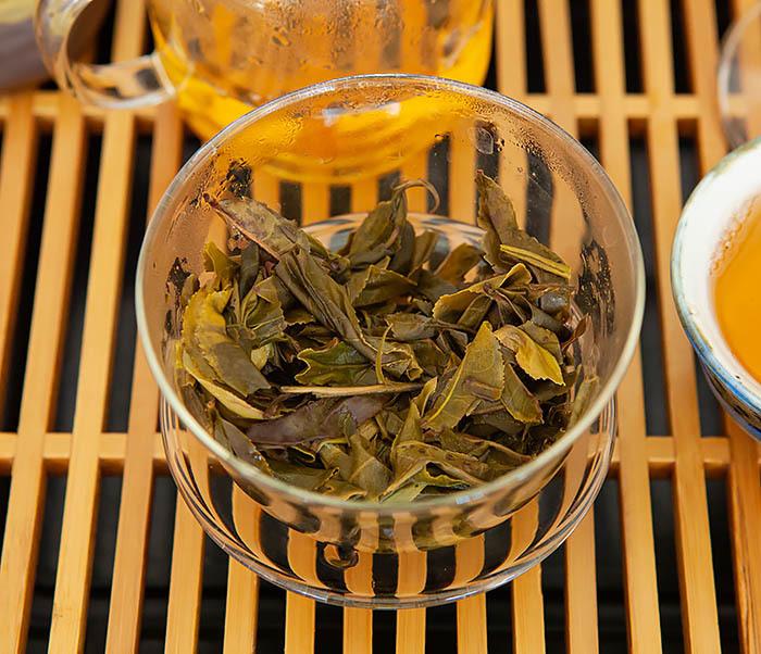 TEA-CH131 Шен Пуэр «Дикий» с горы Лао Цзюнь Шань (Юньнань, 50 гр) фото 16