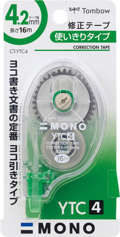 Ленточный штрих-корректор Tombow Mono YTC4