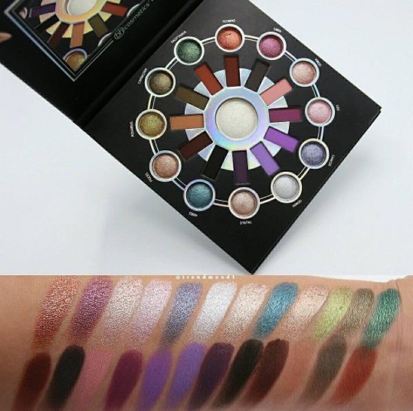 Bh Cosmetics Zodiac 25 color palette